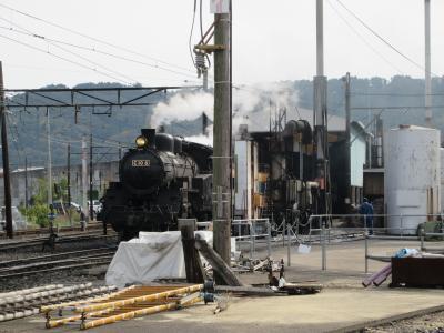 大井川鉄道SL列車に乗る