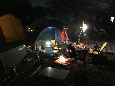 2018年11月23~25日 巾着田キャンプ