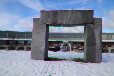 天空のリゾート 高原の宿 氷太くんに宿泊して初冠雪に遭遇、雪見風呂を楽しむ