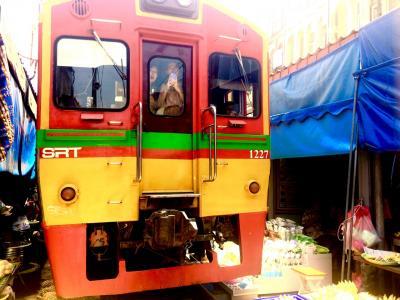 【タイプチ周遊】#4 バンコク~鉄道でアユタヤからの〝あいのりバン〟ロットゥーでメークローン鉄道とアンパワー水上マーケットで運河沿いに宿泊