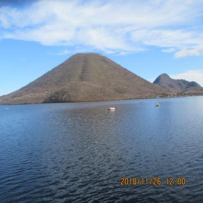 伊香保温泉:榛名湖の初冬の旅
