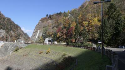 定山渓温泉(北海道:札幌)2日目紅葉:豊平峡