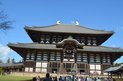 世界最大の木造建築、大仏殿