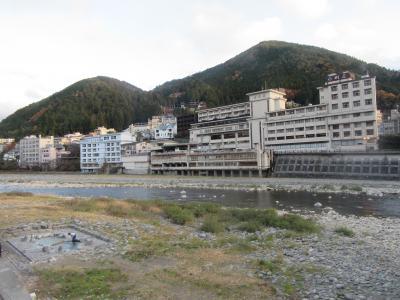 日本三大名泉、下呂温泉の旅