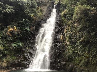 郷田の滝(別名五反滝)を見に