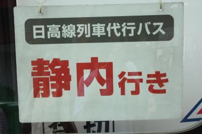 北海道旅行記2018年夏(2)日高本線代行バス鵡川~静内間乗車編