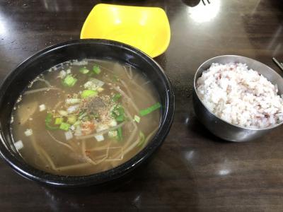 釜山1人旅 クッパを食べにいろいろ