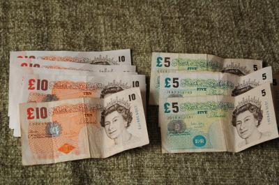 イングランド銀行で旧紙幣を新紙幣に両替してもらうミッション