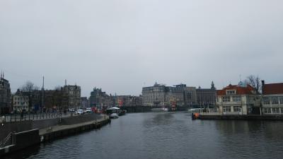 アムステルダムでマイペースに。