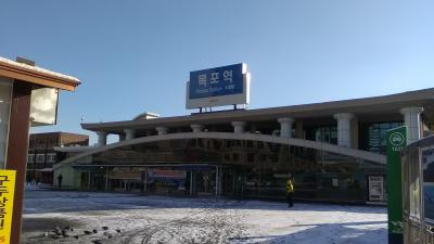 KorailパスでKTX乗り倒し、木浦、ソウル、江陵、釜山