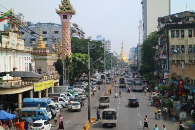 多民族都市・ヤンゴン散策