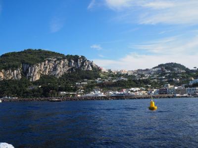「夢のイタリア8日間」 part④ 南イタリア☆地中海の真珠「カプリ島」&世界一美しい海岸「アマルフィ海岸」観光♪♪♪♪