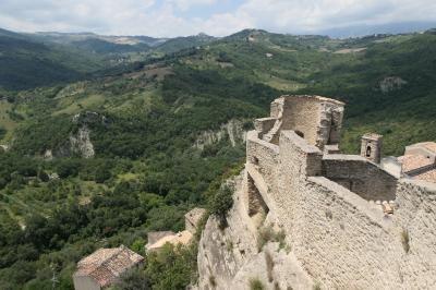 美しき南イタリア旅行♪ Vol.642(第21日)☆Roccascalegna:美しき古城「ロッカスカレーニャ城」塔からのパノラマ♪