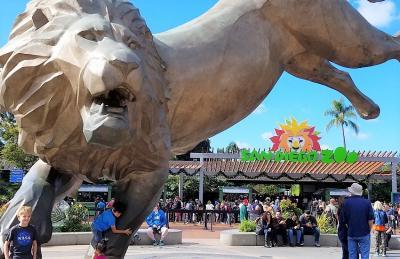 2018 サンディエゴ動物園に行ってみよう。San Diego Zoo in California