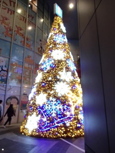 クリスマスイルミネーション・新北市板橋區&電影(映画):愛情線索2奇妙關係