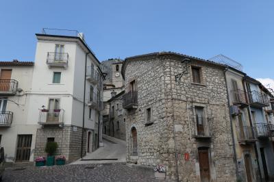 美しき南イタリア旅行♪ Vol.648(第21日)☆Pennadomo:美しき村「ペンナドーモ」♪