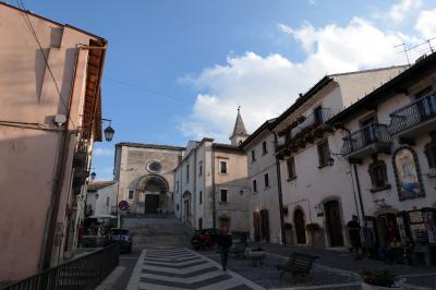 美しき南イタリア旅行♪ Vol.654(第21日)☆イタリア美しき村「ペスココスタンツォ」黄昏の大聖堂♪