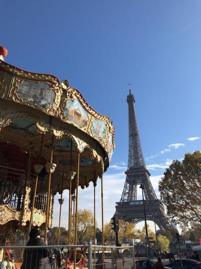 特典航空券Cクラスで行くパリ&日帰りブリュッセル1人旅 - 2日目- 秋のパリ 晴れた日の街歩き