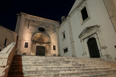 美しき南イタリア旅行♪ Vol.659(第21日)☆イタリア美しき村「ペスココスタンツォ」夜景の大聖堂♪