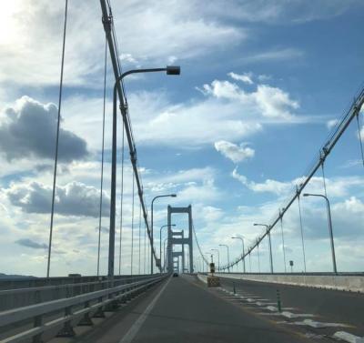 しまなみ海道から高知徳島へ