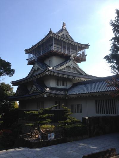 栄から岩崎城へ