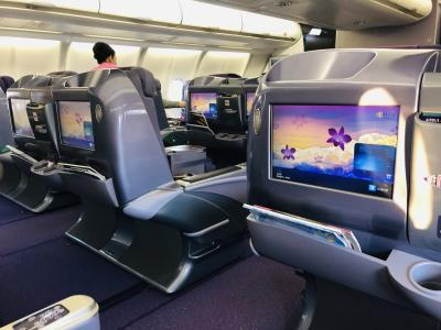 タイ国際航空ビジネスクラスでハノイへ