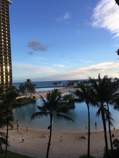 母、娘、孫 女3人 今年2度目のハワイ旅行 最終日