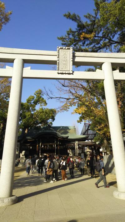 石切神社  食べ歩き