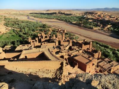 2018年春 モロッコ旅行 メルズーカ砂漠からマラケシュへ アイト・ベン・ハッドゥ