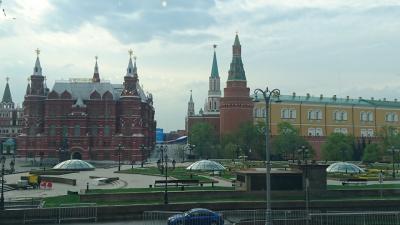 GWのロシア 弾丸ツアー 2018年5月(2つの旅程の第2旅程)