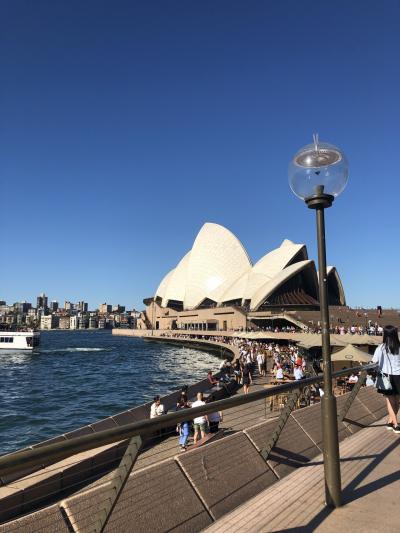 シドニー 一泊4日の旅①