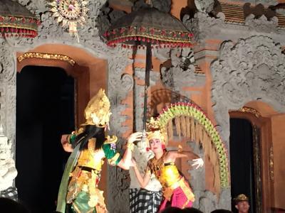 ウブドでバリ舞踊鑑賞
