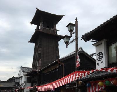 川越:お祭り前日の小江戸川越散策
