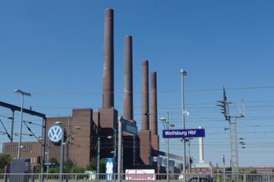2016年夏 イタリア・ドイツ 家族旅行 7)VW AUTOSTADT フォルクスワーゲン・アウトシュタット