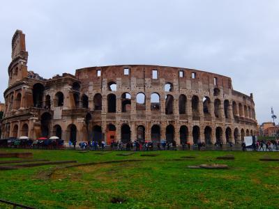 初冬のイタリア ヴェネチア、フィレンツェ、ローマ 8日目 @ローマ