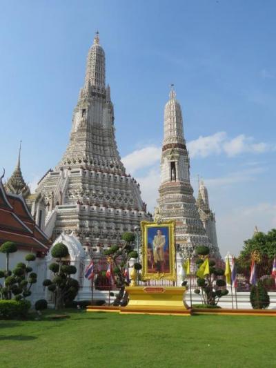 タイ 「行った所・見た所」 バンコクのワット・アルン(暁の寺)を散策
