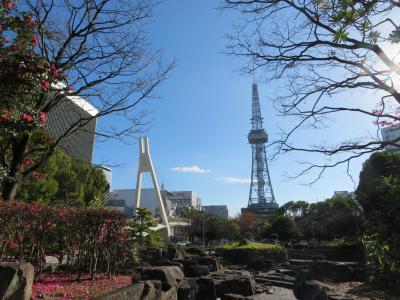 名古屋テレビ塔、久屋大通公園の全面改修工事が間近!テレビ塔上りおさめ、撮りおさめ歩き(昼の部)