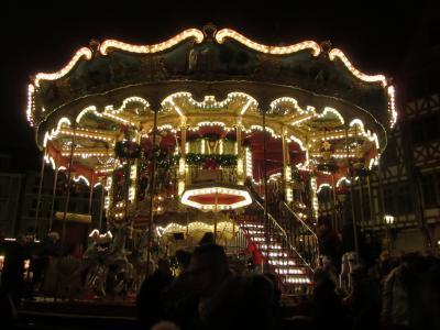 メルヘンの世界に飛び込んできた。ドイツ・クリスマスマーケットを満喫の旅【4~②】 ~フランクフルトのクリスマスマーケット~