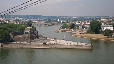 【ドイツ】⑩パリ+古城めぐり1週間+ロンドン (マルクスブルク城・コブレンツ)