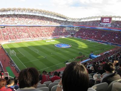 2018年11月3日:カシマサッカースタジアム「ACL決勝戦 鹿島アントラーズ vs ペルセポリス(イラン)」観戦