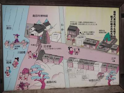 遠い昔がよみがえる島田の蓬莱橋と川越遺跡(2/2 川越遺跡編)