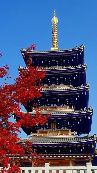 紅葉の中山寺をお参りしました 上巻。