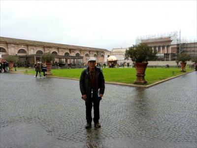 バチカン美術館を一日かけて見学