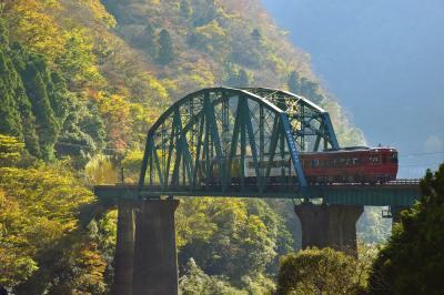 晩秋の四国を巡る旅 ~晩秋の大歩危峡・小歩危峡の紅葉を探しに訪れてみた~