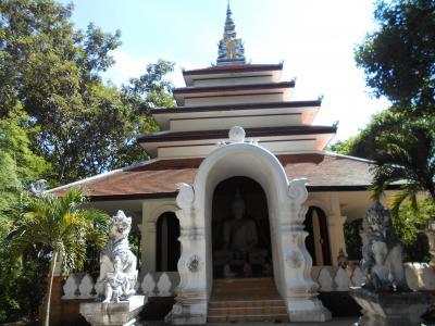 チェンマイでいちばん気に入った寺院はガイドブックにのっていないワットパラだった2018