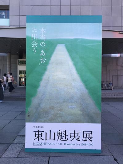 京都を散策 ~あおの世界を堪能 東山魁夷展~
