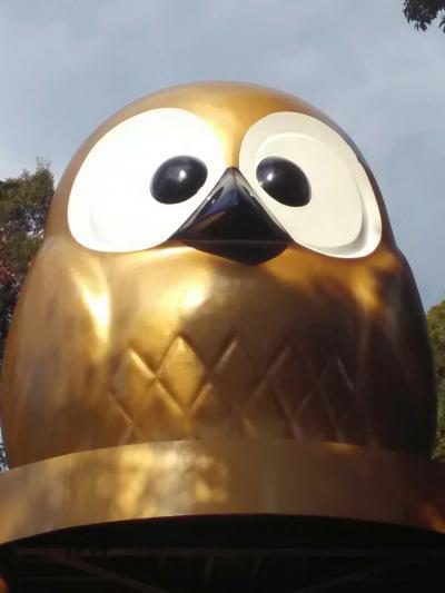 ふくろう像だらけの鷲子山上神社でひたすらふくろうを愛でる旅