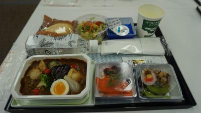ANA機内食工場見学と機内食を堪能する東京旅行