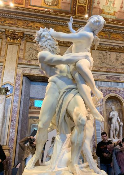 イタリア満喫7泊9日。ローマ最終日はボルゲーゼ美術館へ。