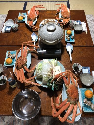 冬の日本海。憧れの大山登山⛰鳥取の蟹?三昧、温泉ついでに、氷ノ山も登った週末